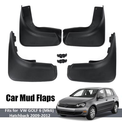 Car mud Flaps for Volkswagen Tiguan MK1 2008 2009 2010 2011 2012 2013 2014 2015 2016 2017 2018 Flaps Splash Guard Front and Rear mud Flaps 4pcs