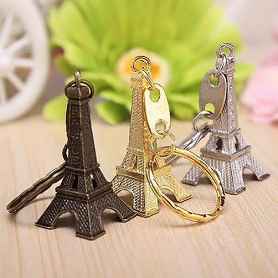 Металла Париж Эйфелева башня кулон брелок брелок брелок брелок Рождественский подарок фото