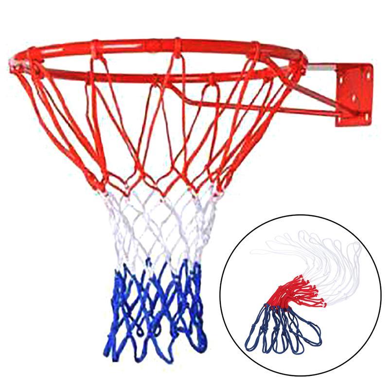 Standard Basketball Net Nylon Hoop Goal Standard Rim For basketball stands