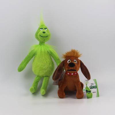"Grinch plush toy doll how the grinch stole christmas boy girl figurine 12/""//30CM"