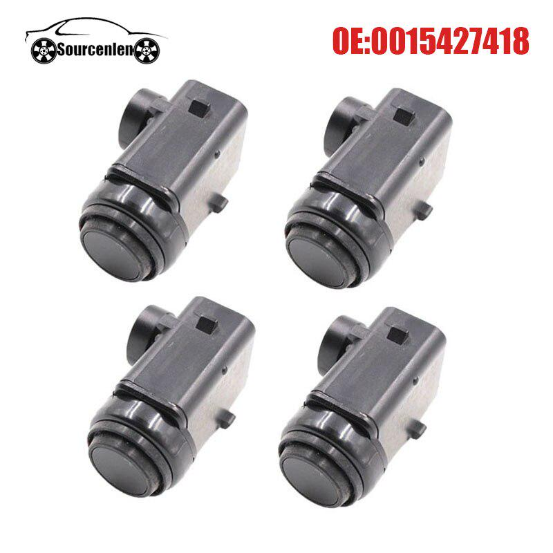 4X PDC Parking Sensor 0015427418 For Mercedes W168 W203 CL203 S203 W211 W210