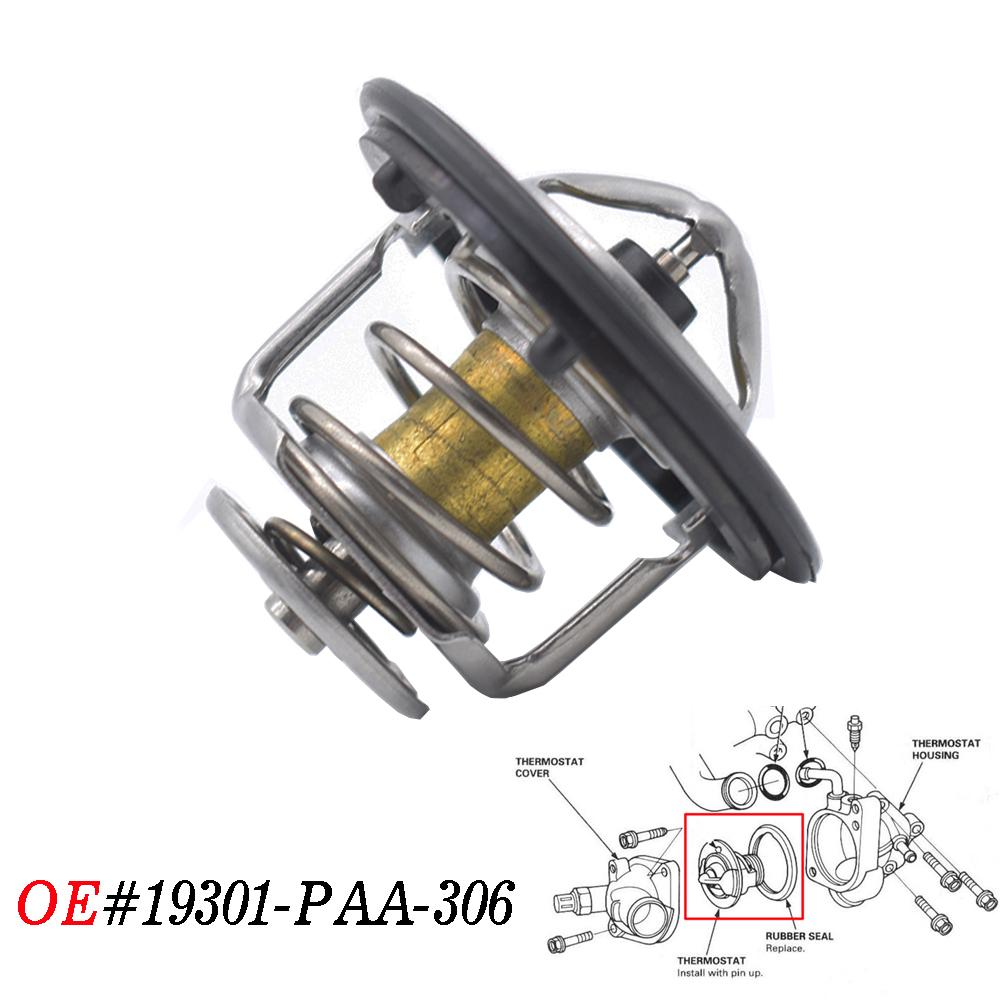 OEM Honda Thermostat and Gasket Accord Prelude Integra CRV Civic 19301-PAA-306