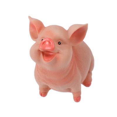 1 pc Piggy Bank Lovely Plastic Pig Shape Creative Cartoon Money Box for Children