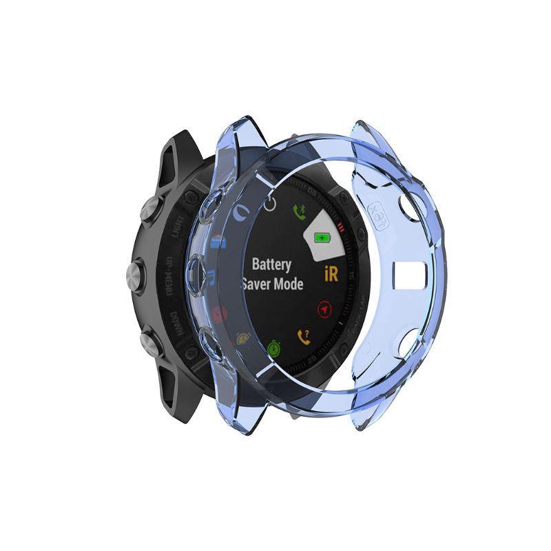 TPU Transparent Shell Protective Case For Garmin Fenix 6//6 Pro//Fenix 6X//6X Pro