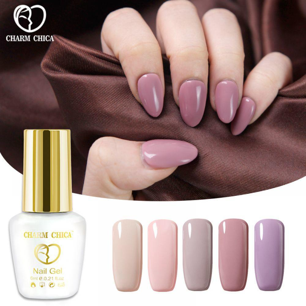 6ml Pink Nude Colors Soak Off Gel Polish Long Lasting Nail Art Lucky Semi Permanent Lacquer N04 Sd C Buy At A Low Prices On Joom E Commerce Platform