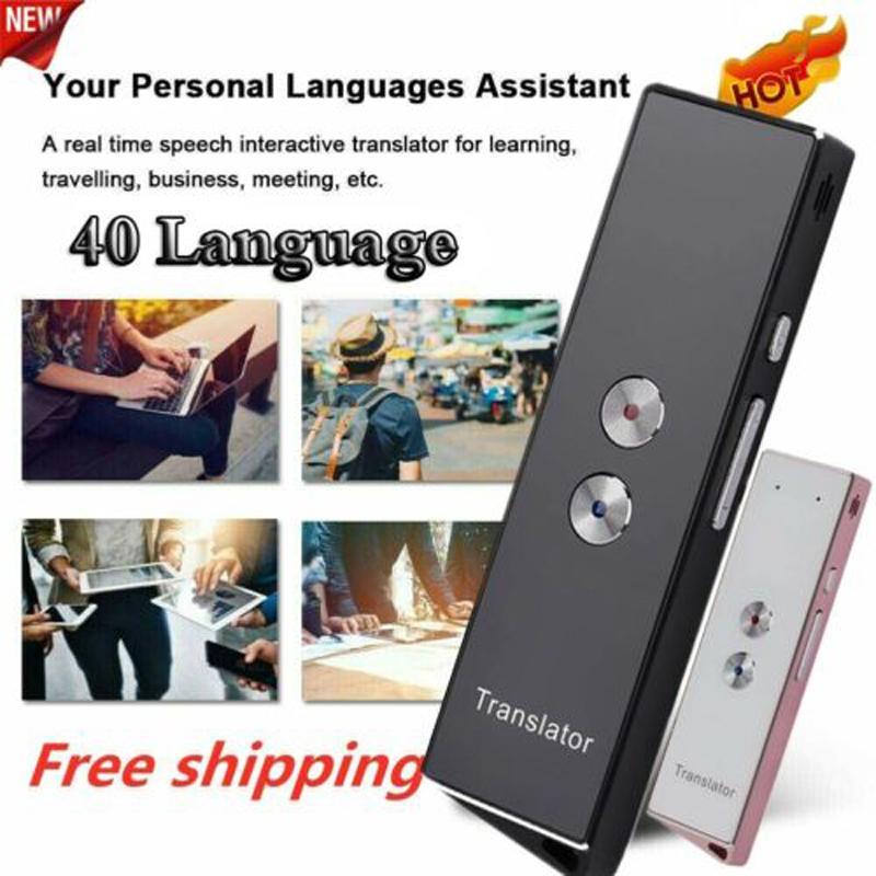 Translaty Enence 40 Languages Smart Translator Instant Voice Photograph