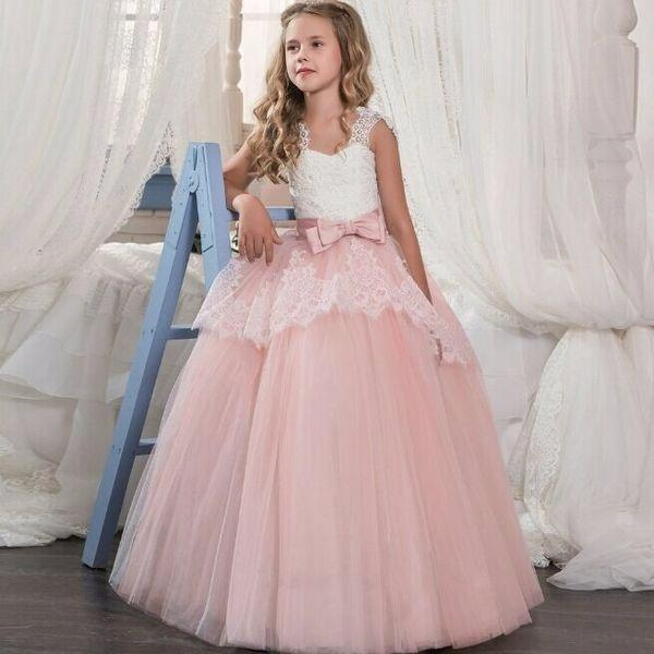 Copii Printesa Rochie Fata De Flori Rochie Fete Dantela Pufos Fusta