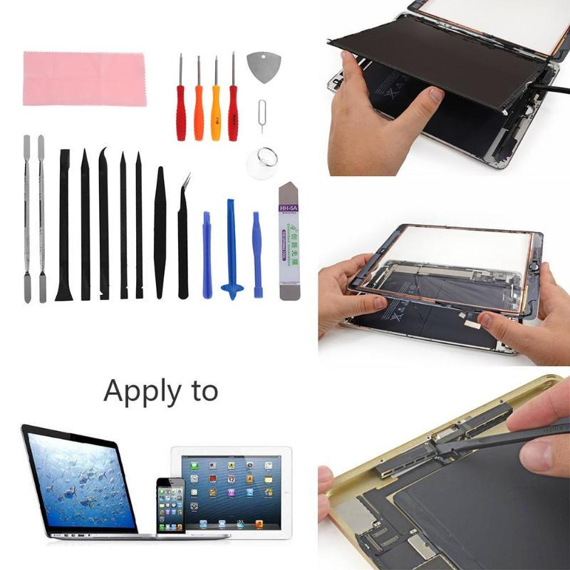 Random 6pcs Plastic Carbon Steel Prying Bar Repair Tools for iPad1 iPad2