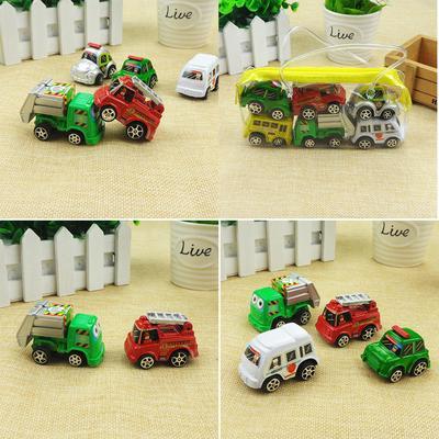 6pcs Auto grundlegende Auto Spielzeug Mini Modell Pull Back Autos ...