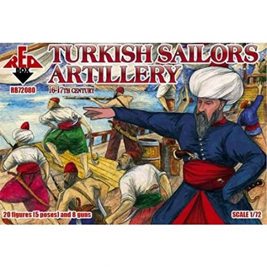 /17th Century Grey 16/ Red Box RB72081/Model Kit English Sailor
