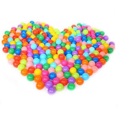 200pcs Colorful Soft Plastic Ocean Ball 70MM Safty Secure Baby Kid Pit Toys Swim
