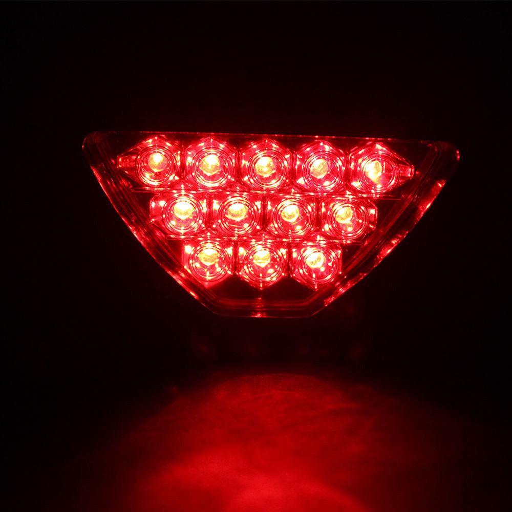 Universal Easy Use F1 Style Car ATV SUV 12V LED Stop Fog Tail Brake Light Lamp