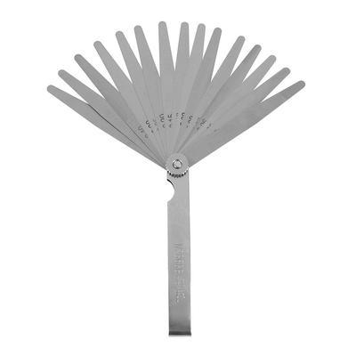 0.02mm to 1mm Thickness Gap Metric Filler Feeler Measuring Gauge Stainless Steel