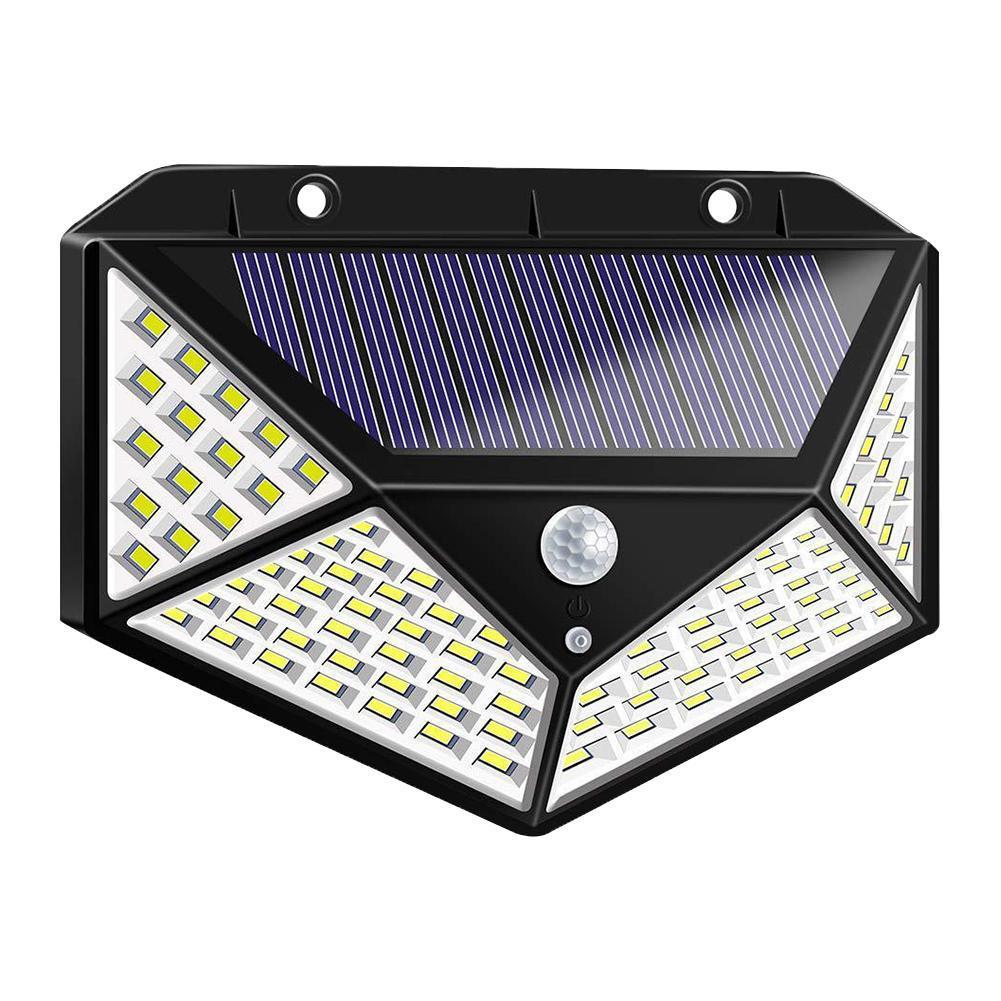 36LED Waterproof Wall Lamp Infrared Sensor 400LM Outdoor Garden Yard Solar Light