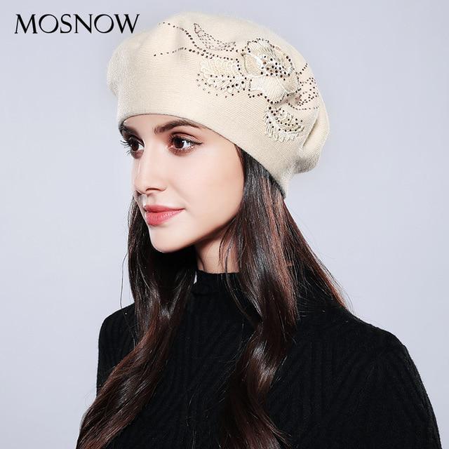 f1cb6026e Bonnet Femme mujer nuevo algodón marca boina moda flor otoño invierno gorros  tejidos para tapas - comprar a precios bajos en la tienda en línea Joom