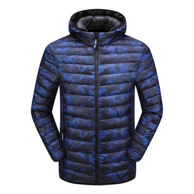 Mens Winter Leisure Pure Color Hoodie Medium Length Velvet Cotton Blend Parka Realdo Mens Thicken Coat