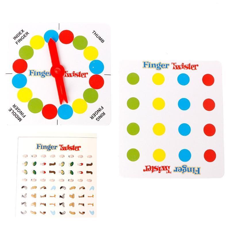 Juego de Mesa para Familia y Fiestas Child Toy Juego de Suelo Twistter