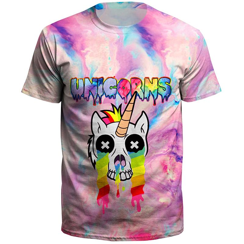 c02d7c12 Summer Dabbing Unicorn Printed Tops Hip Hop Tee Dabbing Pug TShirt Men  Multicolor Cotton TShirt-buy at a low prices on Joom e-commerce platform