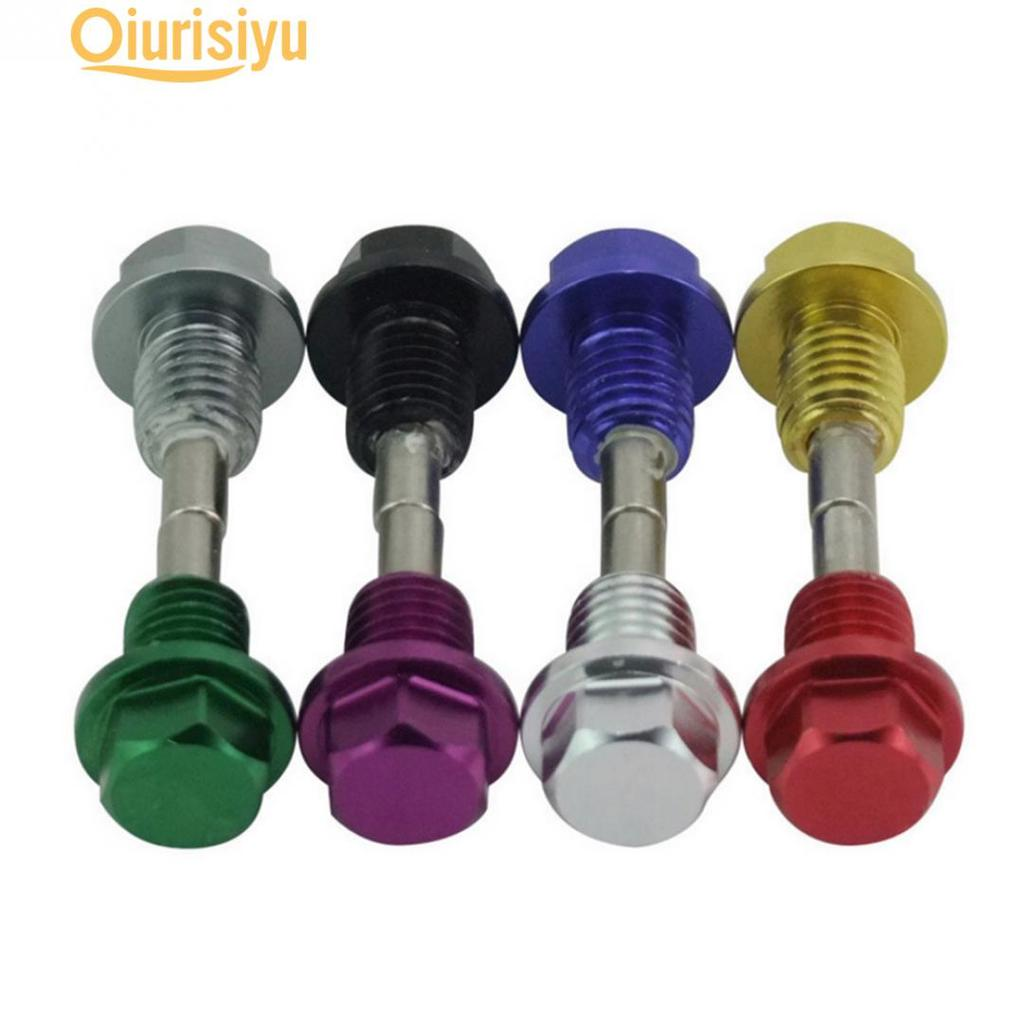 M12 1.25 Titanium Alloy Oil Pan Screw,6 Sizes M12 M14 M16 M20 Oil Drain Plug,Car Engine Magnetic Oil Drain Plug
