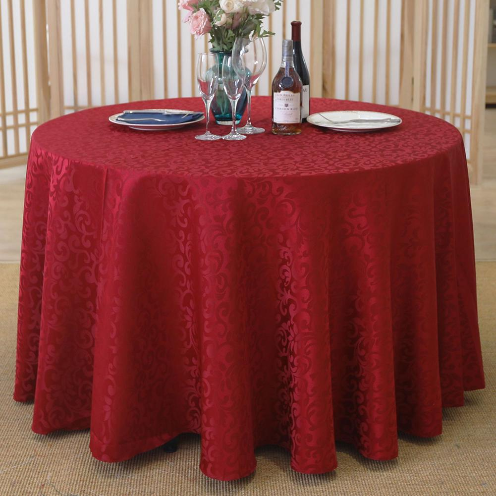 9cm Round Table Cloth Cover Banquet Wedding Party Desk Dining Table  Decoration