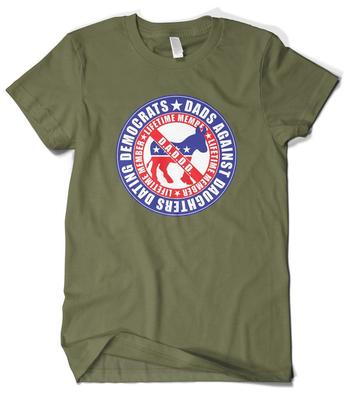 Dads against daughters dating democrats t-shirt