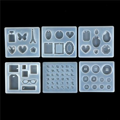 Clear Silicone Resin Pendant Mold Making Jewelry DIY Casting Mould Tool Craft