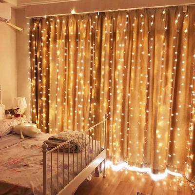 20M LED Waterproof Window Curtain Icicle String Fairy Lights Wedding Xmas Party Decor