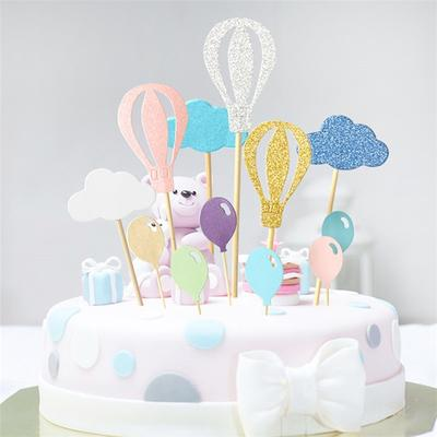 Cupcake Toppers Cloud Cake Decor Wedding Supplies Birthday Party Decoration