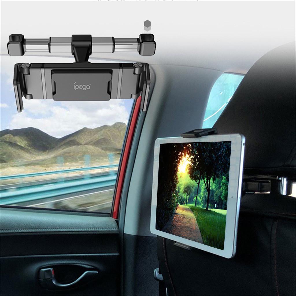 Smartphone Holder Easy Installation Safe Driving Backseat Tablet Mount Safe /& Durable Phone Holder 360/° Adjustable Rotating Backseat Headrest Extendable Mount Holder by Cellet