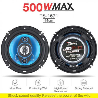 2x HiFi 6Inch 120W Car Coaxial Speaker Audio Stereo Full Range Speaker 12V 90dB