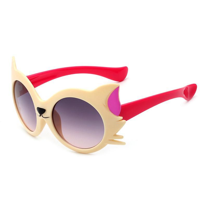 b45f5bd94b Nuevos dibujos animados Fox gafas de sol niños viajan al aire libre de Gel  de sílice sol gafas Color caramelo gafas Oculo - comprar a precios bajos en  la ...