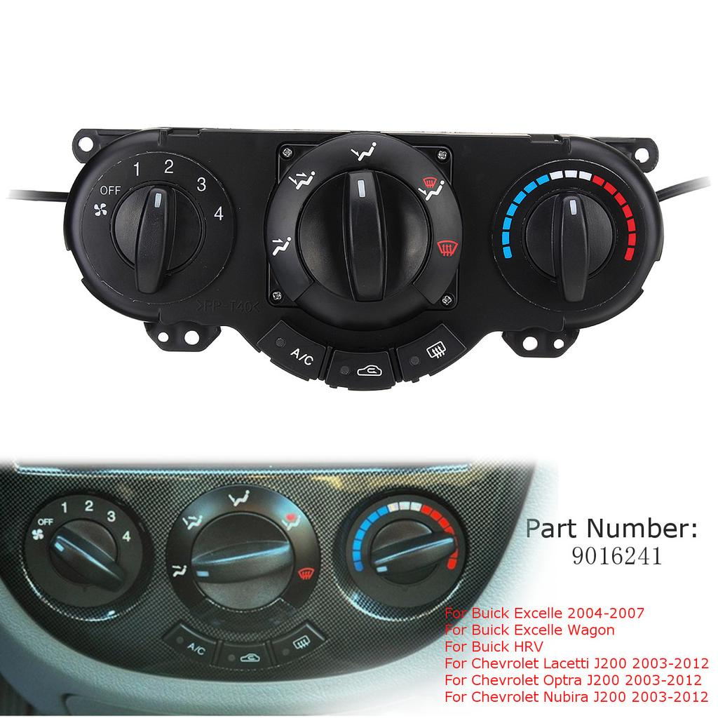 Air Conditioning & Heat High Quality Auto Replacement Parts Air Ac Heater Panel Climate Control Assy For Buick Excelle Wagon Hrv Lacetti Optra Nubira Wagon 96615408 Pretty And Colorful