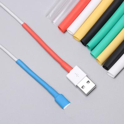 3:1 HQ Heat Shrink Tubing Sleeve For iPhone//iPad//Android Data Charger Line Cable
