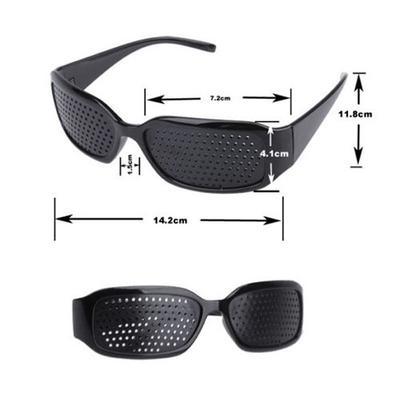 New Unisex Eyes Correction Exercise Eyesight Vision Care Improvement Pinhole Glasses