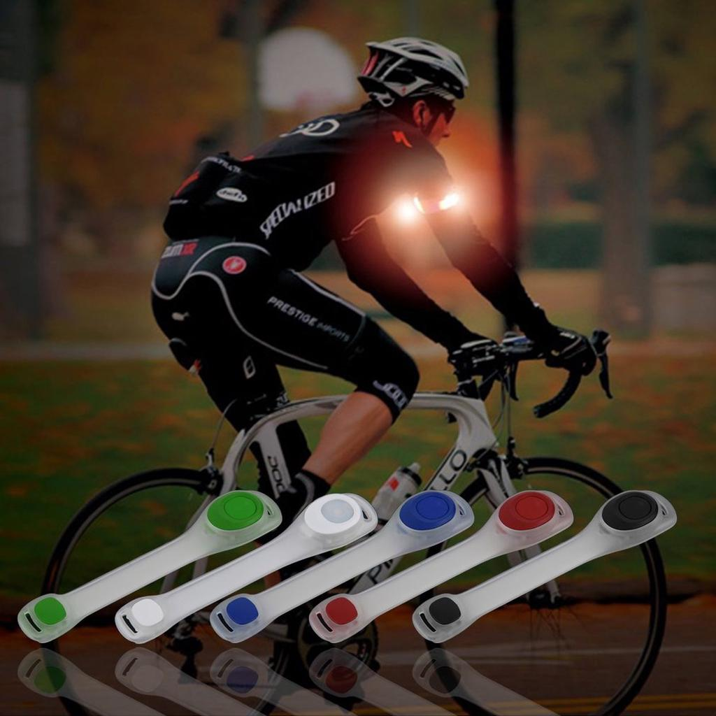 LED Safety Lights Refective Gear Night Running Cycling Jogging Bike Tail 2Pcs
