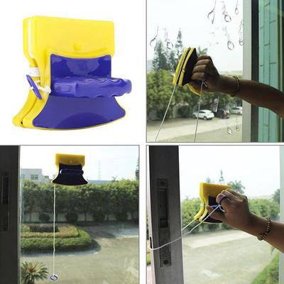 Magnetic Window Cleaner for Glazed Window Double Sided Brushes Glass Cleaning UK