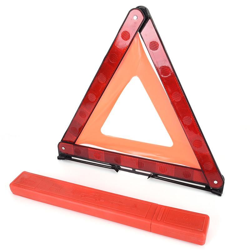 Gro/ße Reflektierende Warnung Dreieck Zeichen Faltbare Stra/ße Notfall Panne