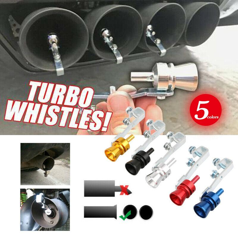 Exhaust Pipe Oversize Roar Maker Car Sound Turbo Whistles Simulator Whistles