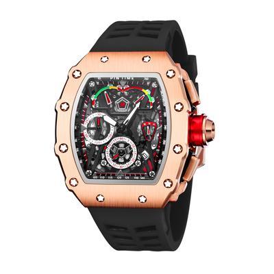Big Dial Sport Watch Men Chronograph Quartz Military Mens Watches Top Brand Luxury Gold Clock Hip Hop Reloj Relogio Montre Homme