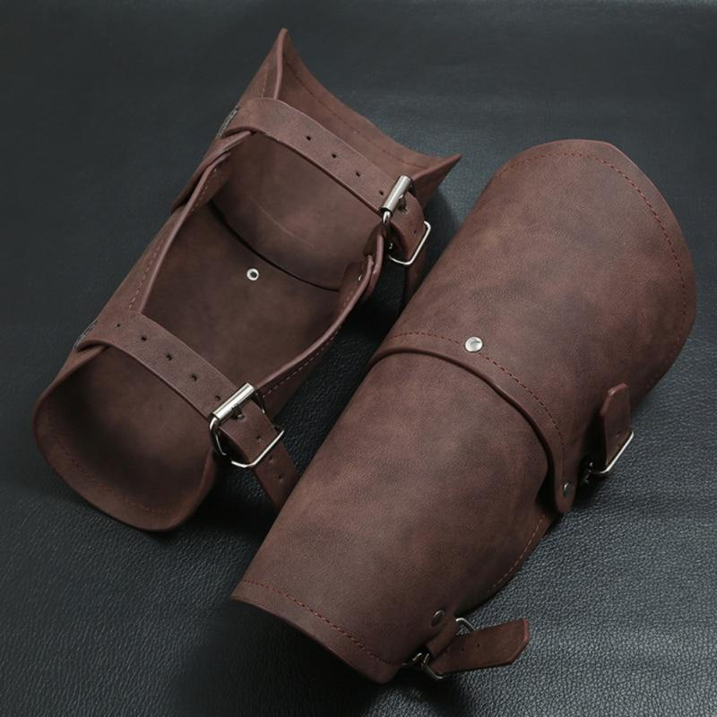 Leather Armor Full Wrap Leather Bracers cuffs