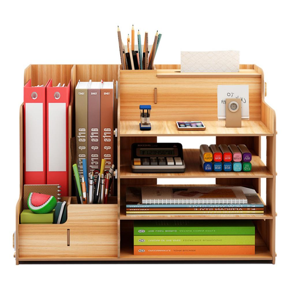 2 Stücke Holz Stift Bleistift Container Aufbewahrungsbox Jewel Case für