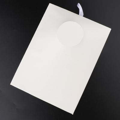 2Pcs 300*300*0.5mm ABS Plastic Flat Sheet Flexible Smooth Back High Quality