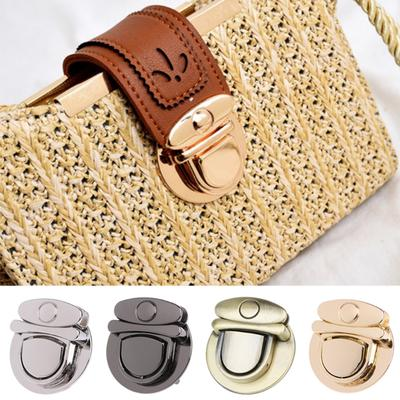 Boucle de Twist Lock Hardware pour sac bandoulière sac à main artisanat bricolage tour verrouille fermoir