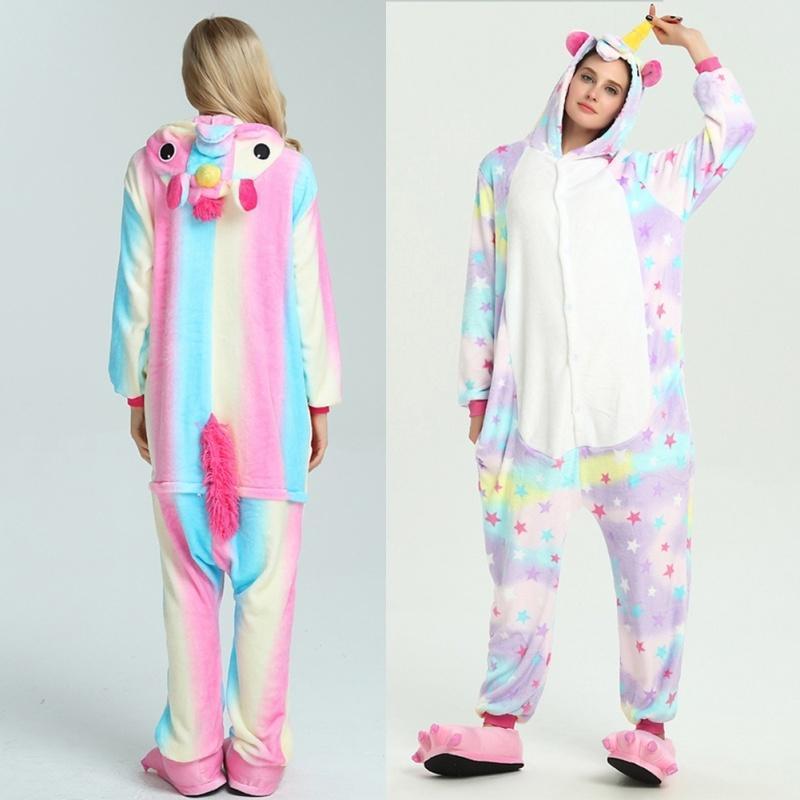 Унисекс взрослых пижамы Единорог косплей костюм животных пижамы – купить по  низким ценам в интернет-магазине Joom 67fa3255b61ac