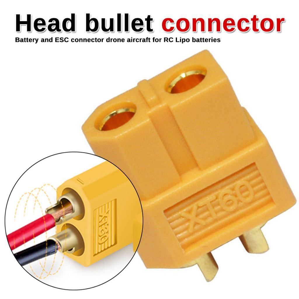 10PCS 5Pairs XT60 Male /& Female Bullet Connectors Plugs For RC LiPo Battery