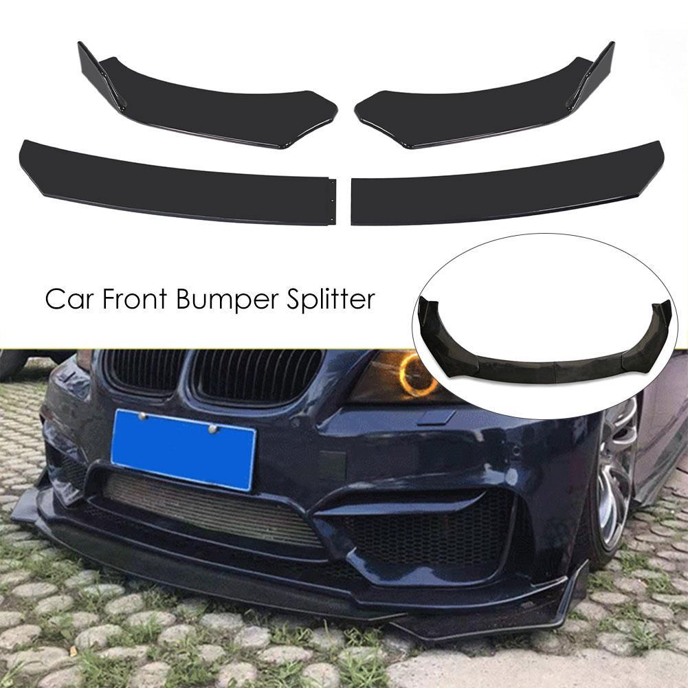 Car Front Bumper Splitter Universal Durable Car Front Lip Chin Bumper Body Kit Buy From 62 On Joom E Commerce Platform