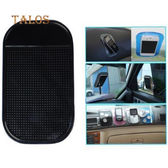 Anti-dérapant Mat Dashboard téléphone Mobile GPS collant porte-dosette noir