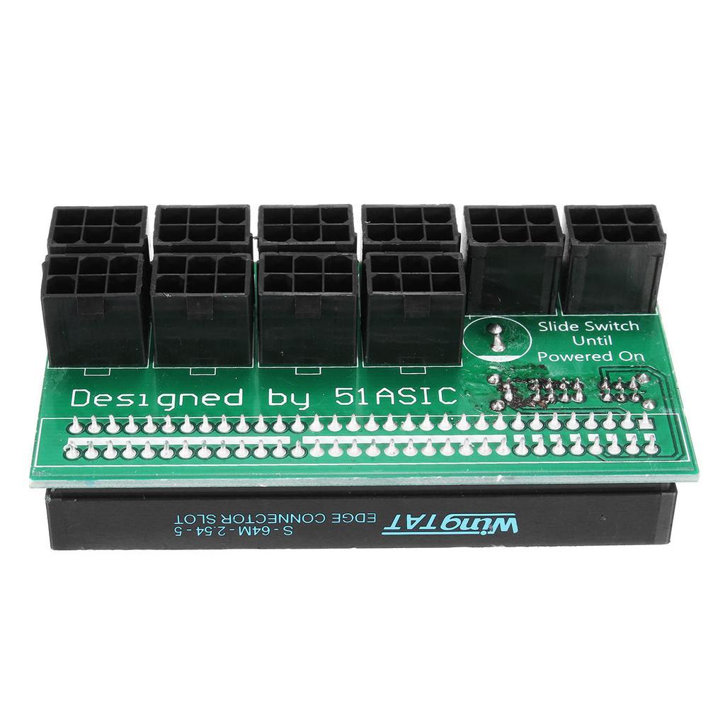 10pcs DPS-1200FB//QB Power Supply Breakout Board Adapter for Ethereum Mining ZEC