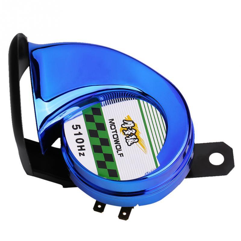 Universal  110db 510hz Schneckenhorn Elektrisches Luft-Horn Für 12v