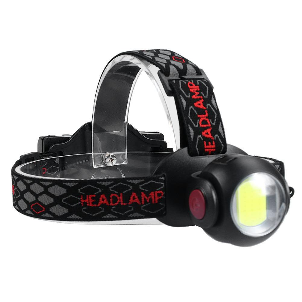 SKYWOLFEYE T6 LED Headlight Rechargeable USB Zoom Lamp with 2X18650 Battery WT